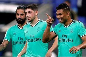 Thắng tối thiểu trước Espanyol, Real Madrid bứt tốc trong cuộc đua vô địch