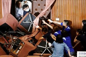 Hỗn chiến trong cơ quan lập pháp Đài Loan