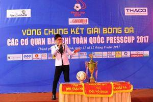 Ca sĩ Cáp Anh Tài: 'Quy mô của Press Cup ngày càng lớn, tính chuyên nghiệp ngày càng cao'