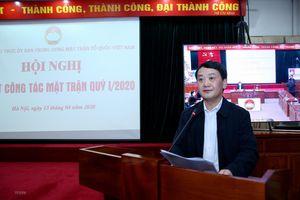 Ông Hầu A Lềnh tái đắc cử Bí thư Đảng ủy cơ quan Trung ương MTTQ