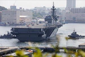 Ấn Độ tập hải quân với Nhật Bản trong lúc đối đầu với Trung Quốc