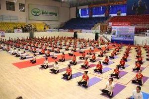 Festival Yoga toàn quốc năm 2020 thu hút gần 2.000 vận động viên