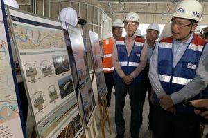 Phó thủ tướng Phạm Bình Minh thị sát tuyến metro số 1 Bến Thành - Suối Tiên