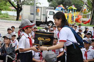 Tuyên truyền ATGT cho 500 học sinh xã Long Sơn