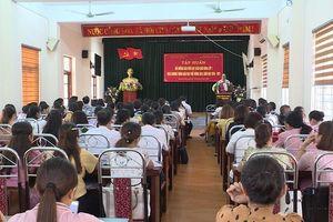 Hơn 800 cán bộ, giáo viên được tập huấn dạy học sách giáo khoa lớp 1
