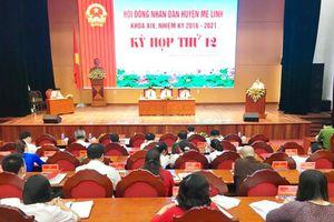 Tổng giá trị sản xuất kinh tế huyện Mê Linh tăng 4,8%