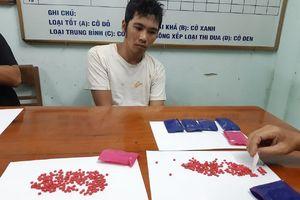 Quảng Trị: Bắt đối tượng vận chuyển trái phép 1.400 viên ma túy