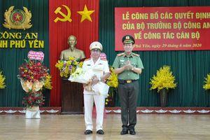 Công bố quyết định bổ nhiệm Giám đốc Công an tỉnh Phú Yên và Gia Lai