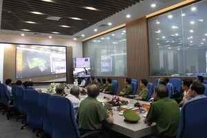 Ra mắt Trung tâm thông tin chỉ huy Công an TPHCM