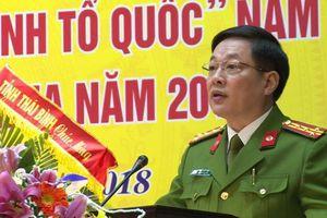 Điều động Phó Giám đốc Công an tỉnh Thái Bình làm Giám đốc Công an tỉnh Thái Nguyên