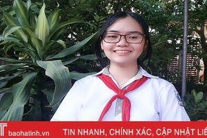 Nữ sinh Hà Tĩnh đoạt giải 'Cây bút triển vọng' cuộc thi viết thư UPU
