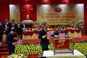 Đại hội Đảng bộ huyện Na Hang, Tuyên Quang