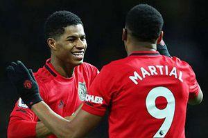 Martial và Rashford là 'súng hai nòng' Cole - Yorke mới của M.U