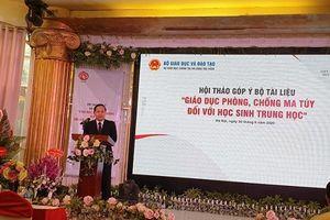 PSD tổ chức hội thảo góp ý 'Bộ tài liệu giáo dục phòng, chống ma túy đối với học sinh trung học'