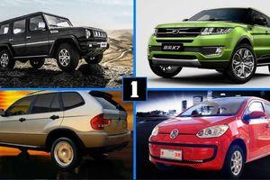 Tìm hiểu 12 mẫu xe Trung Quốc 'nhái' những mẫu xe nổi tiếng thế giới (p1)