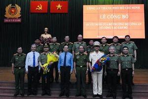 Đại tá Lê Hồng Nam chính thức giữ chức Giám đốc Công an TPHCM