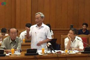 Cựu cán bộ Đà Nẵng góp ý văn kiện Đại hội XIII: Thẳng thắn, tâm huyết
