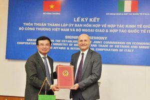 Thành lập Ủy ban hỗn hợp về Hợp tác kinh tế Việt Nam - Italia