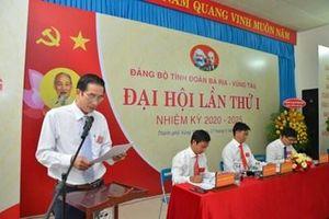 Bà Rịa- Vũng Tàu: 100% tổ chức cơ sở Đảng hoàn thành đại hội