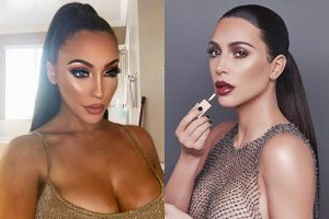 9X dành 6 tiếng/ngày để hóa trang thành Kim Kardashian
