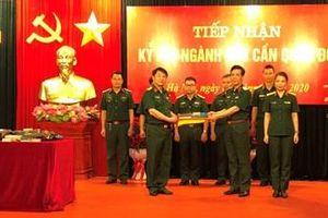 Tổng cục Hậu cần tiếp nhận 190 kỷ vật ngành Hậu cần Quân đội