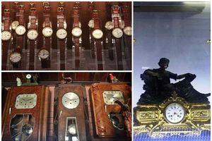 Bộ sưu tập đồng hồ cổ bạc tỷ bằng cả gia tài của đại gia Việt