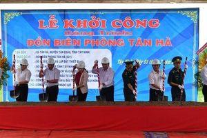 Khởi công xây dựng Đồn Biên phòng Tân Hà