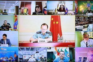 Hội nghị trực tuyến Đối thoại Quan chức Quốc phòng Diễn đàn khu vực ASEAN