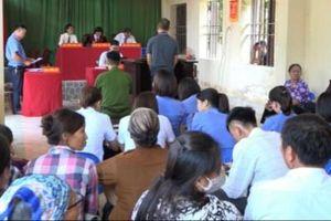 Thái Bình: TAND huyện Tiền Hải xét xử lưu động 3 vụ án liên quan ma túy