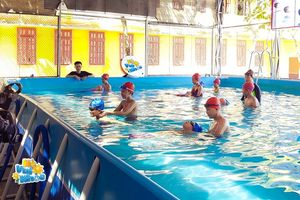 Chuẩn hóa kiến thức Bơi an toàn cho hơn 22 triệu học sinh
