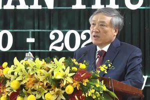 Chánh án TANDTC Nguyễn Hòa Bình dự Đại hội điểm Đảng bộ huyện Núi Thành