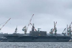 Nhật Bản bắt đầu sửa đổi tàu sân bay Izumo để tiếp nhận tiêm kích F-35B