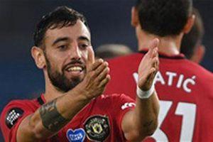 Bruno Fernandes và hàng loạt kỷ lục sau trận M.U đại thắng Brighton