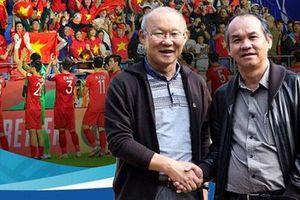 HLV Park Hang Seo gặp gỡ bầu Đức trong dịp đặc biệt
