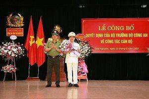 Thái Nguyên, Lạng Sơn, Cao Bằng có tân Giám đốc Công an