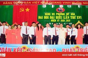 Đồng chí Phạm Vĩnh Thạo giữ chức Bí thư Đảng ủy phường Mỹ Hòa lần thứ XVI (nhiệm kỳ 2020 – 2025)