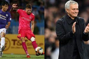 HLV Vũ Tiến Thành dùng Jose Mourinho để khắc họa lối đá của Sài Gòn FC