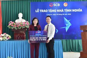 SCB tài trợ 1,2 tỷ đồng xây dựng 20 nhà ở tại tỉnh Long An