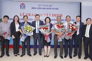 Bệnh viện Ung Bướu Hà Nội được công nhận là bệnh viện tuyến cuối
