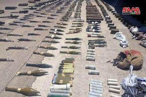 Choáng ngợp kho vũ khí 'khủng' Quân đội Syria vừa tịch thu ở Aleppo