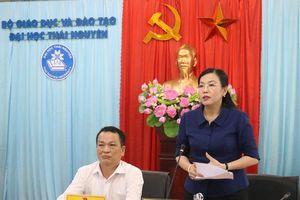 Thái Nguyên: Tăng cường trao đổi phối hợp giữa tỉnh với Đại học Thái Nguyên