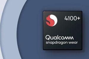 Qualcomm công bố vi xử lý Snapdragon Wear 4100 và 4100+ mới cho smartwatch