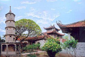 Chùa Bút Tháp, Bắc Ninh: Chạm khắc những nét kiến trúc độc đáo