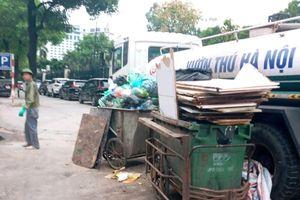 Quận Ba Đình: Xử lý nghiêm nạn đổ trộm phế thải