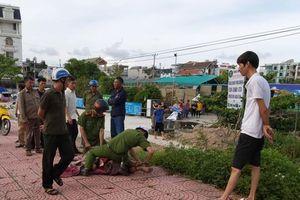 Quảng Ninh: Công an khống chế đối tượng nghi ngáo đá khỏa thân dạo phố