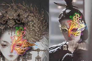 Tạo hình mặt nạ của Lý Thấm bị nghi sao chép khi 'Cẩm tú nam ca' mới vừa phát sóng