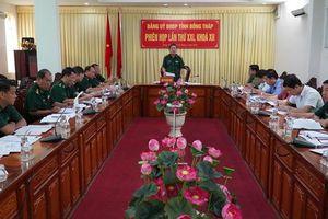 Tập trung chuẩn bị Đại hội Đại biểu Đảng bộ Bộ đội Biên phòng tỉnh lần thứ XIII