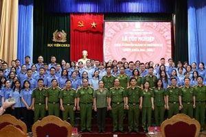 Ngành Tư Pháp hình sự, Học viện CSND tổ chức lễ tốt nghiệp cho sinh viên