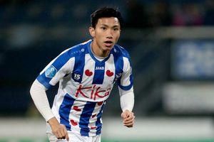 Đoàn Văn Hậu 'biến mất' khỏi đội hình của SC Heerenveen