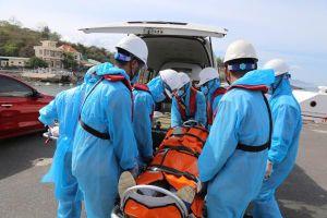 Khánh Hòa cấp cứu thuyền viên nước ngoài nguy kịch trên biển